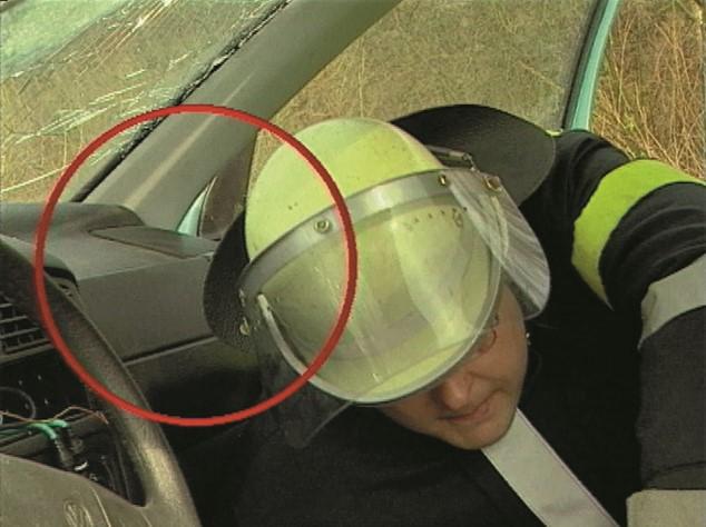 Beifahrer-Airbag-Sicherung
