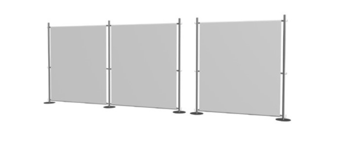 Raumteiler Wände