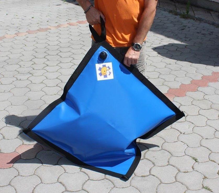 Zeltgewicht Wassertank